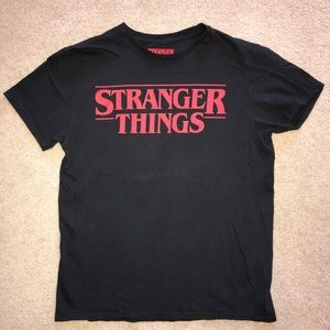 Netflix Stranger Things T-Shirt Black